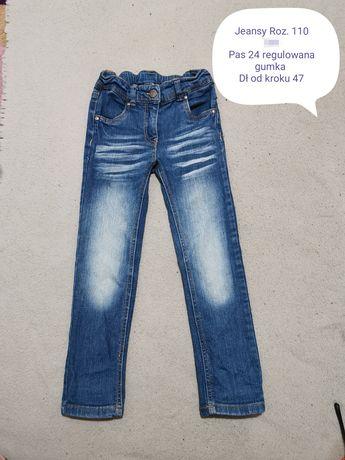 Dżinsy jeansy r 110