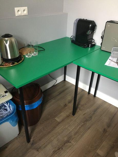 biurko szkolne lub biurowe