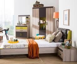 Meble młodzieżowe łóżko szafa regał komoda biurko ENERGY Outlet -30%