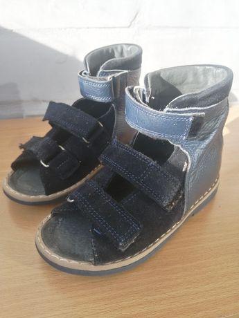 Ортопедические сандалии кожа 26 р