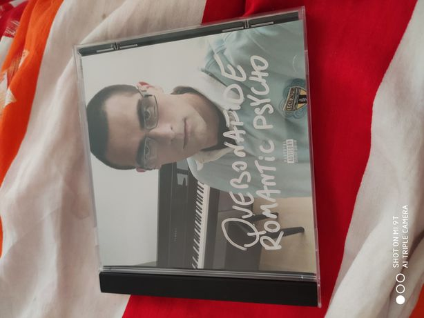 Quebonafide romanticpsycho CD