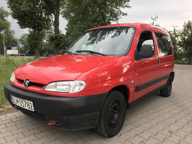 Peugeot Partner 1,4 benzyna 2001r, zadbany