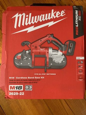 Milwaukee 2629-22 лєнточна пила.