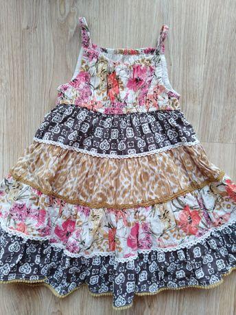 Sukienka, Sukieneczka  dla dziewczynki 86