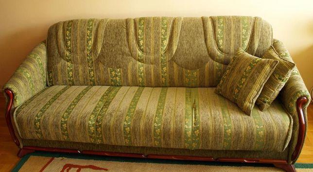 Komplet mebli - kanapa, dwa fotele + ława