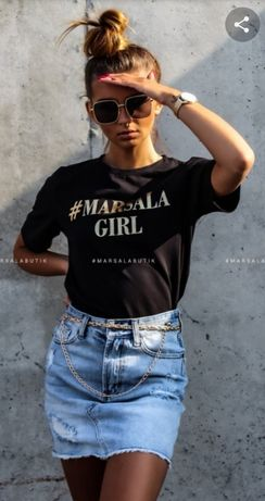 T-shirt Marsala Girl
