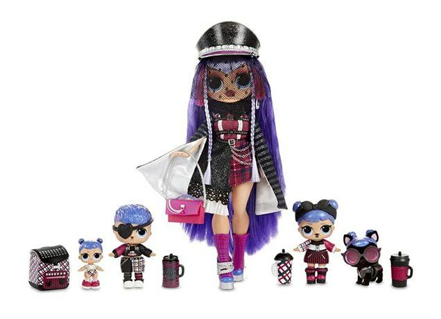 Оригинал! Набор 5 кукол LOL Surprise - Shadow family