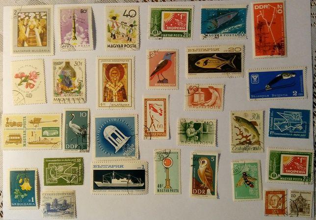 Komplet znaczków pocztowych IV - 30 szt.