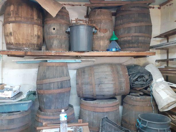 Pipos madeira usados