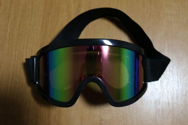 Новые Лыжные Мото Очки Маска для Кросс Шлем Мотокросс Мотоочки