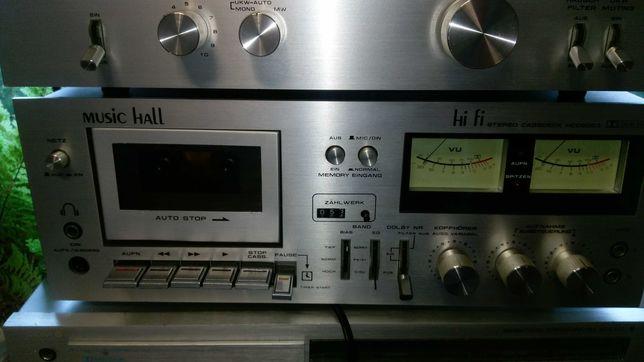 magnetofon kasetowy miusic hall