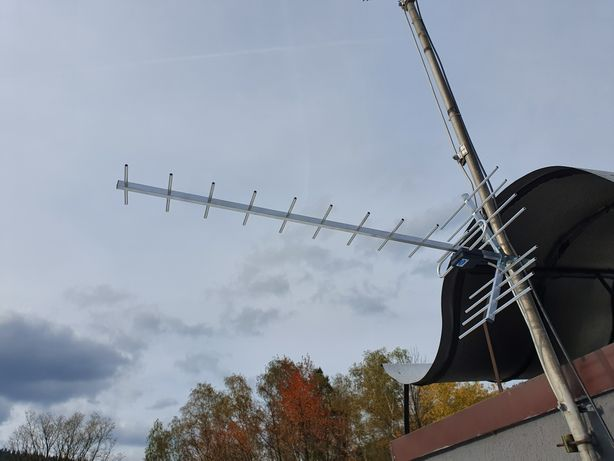 Antena DVB-T Dipol Bardzo dobry Zasieg sprzedam