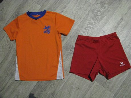 Форма футбольная рост 134-140 см спортивная 9-10 лет футболка шорты