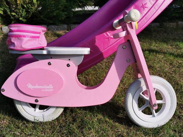 Rowerek biegowy Mademoiselle różowy drewniany Janod
