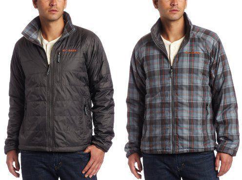 Куртка мужская утепленная двусторонняя Columbia , размер М (46-48)