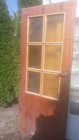 Drzwi drewniane 80 cm