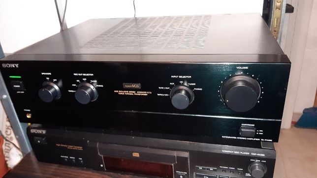 Amplificador sony TA-F446e