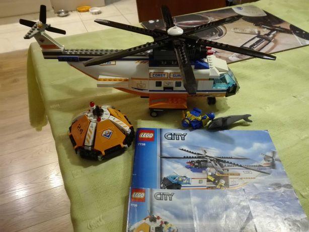 Lego śmigłowiec 7738