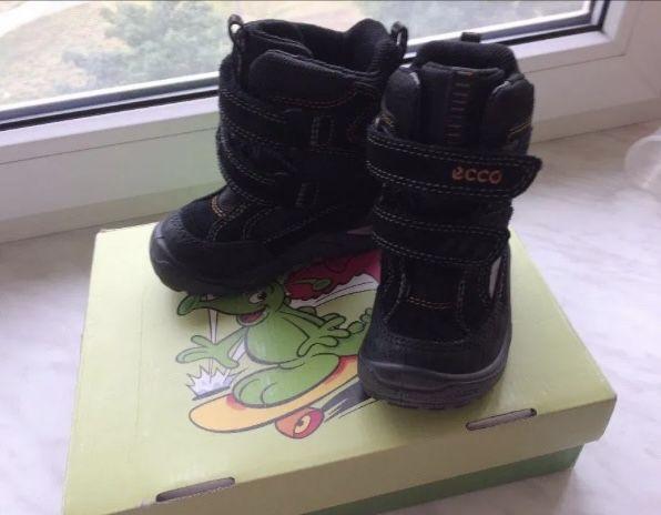 Зимние ботинки сапожки Ecco snowrise gore-tex, 22 р. Петропавловская Борщаговка - изображение 1
