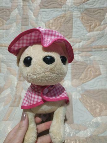 Мягкая игрушка собачка чихуахуа чи чи лав chi chi love simba