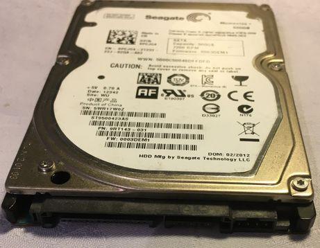 "Жесткий диск HDD Seagate 2.5"" 500Гб (ST9500423AS)"