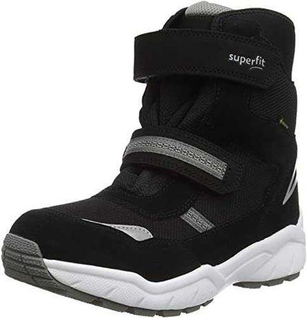 Новые зимние ботинки Superfit Culusuk (black) 26,27,,32,33,35
