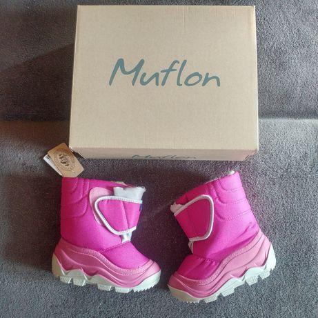 Buty zimowe śniegowce Muflon CCC rozmiar 25-26