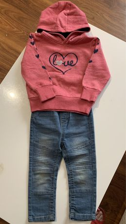 Bluza jeansy r.92