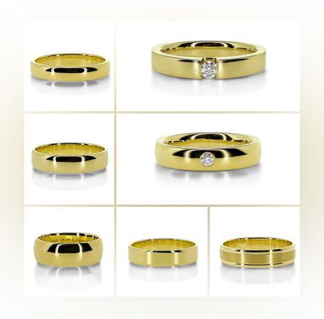 Prześliczne Modele Złotych Obrączek Ślubnych