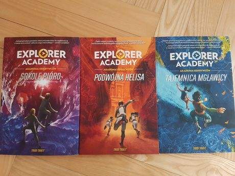Explorer Academy  1,2,3 część