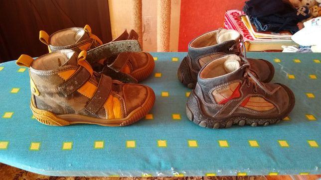 Ботинки Bartek демисезонные на мальчика,26 и 25 раз.