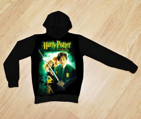 Утеплённое худи Гарри Поттер и тайная комната для мальчиков 8-14 лет