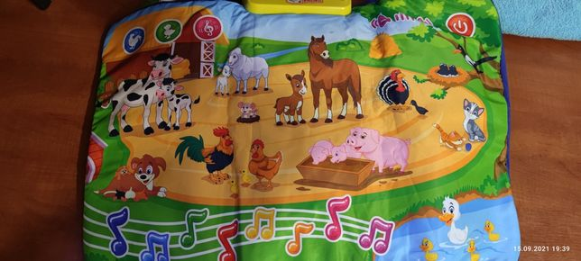 Интерактивный музыкальный коврик