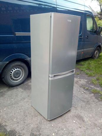 Холодильник двох моторний в нержавійці 1.75 см
