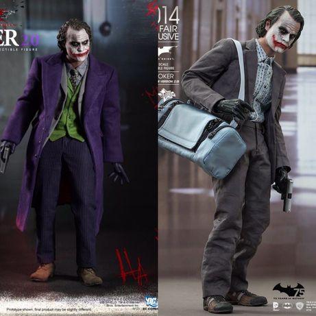 Продам б/у фигурку 1/6 Custom Hot Toys Joker Dark Knight Bank Robber