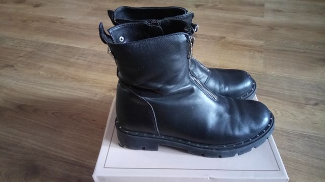 Ботинки кожаные р.34