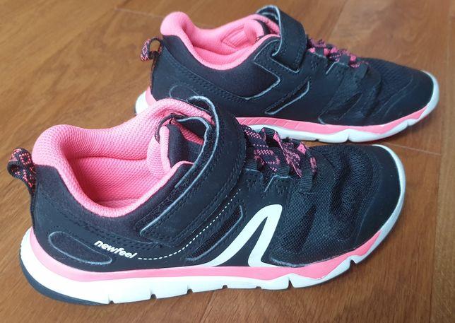 Buty sportowe dziewczęce rozmiar 33 Newfeel Decathlon