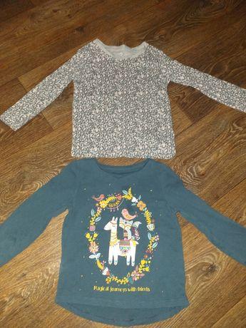 Реглан кофта блузка