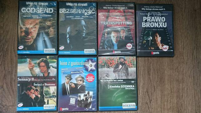 Pakiet 7 Dvd - Blues Brothers, Prawo Bronxu, Trainspotting i inne