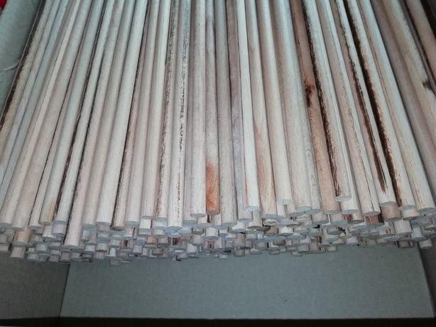 Дерев'яні вироби з бука довжина 42 см діаметром 9 мм