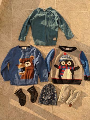 Детские вещи H&M 86-92 размер ( набор пакет вещей)