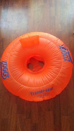 Koło fotelik do nauki pływania Zoggs gratis basenik