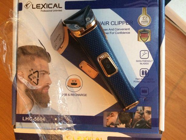 Мужская машинка для стрижки волос, триммер LEXICAL LHC-5604 беспроводн