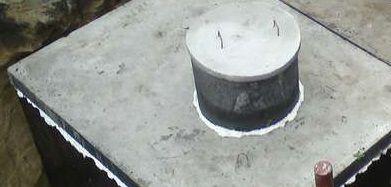 Zbiornik betonowy na Szamba zbiorniki betonowe na deszczówkę,szambo
