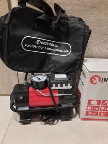 Компрессор для авто компрессор автомобильный подкачка колес LED фонарь