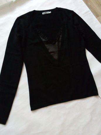 Nowy sweterek damski r. m czarny