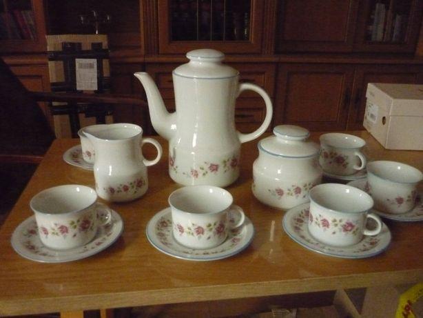 Serwis kawowy Wawel porcelana vintage PRL