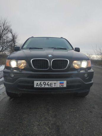 Продам BMW X5 чёрный