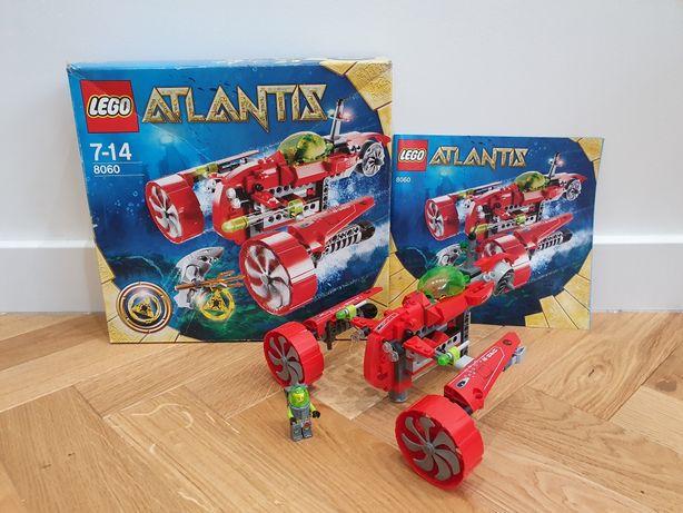 Lego ATLANTIS 8060 Łódź podwodna Tajfun, pudełko, instrukcja