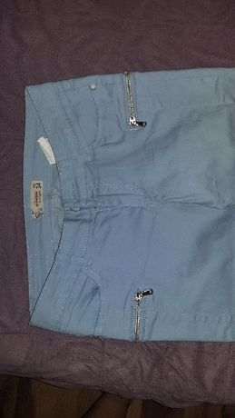 Spodnie jasne niebieskie rurki 34 xs diverse nowe